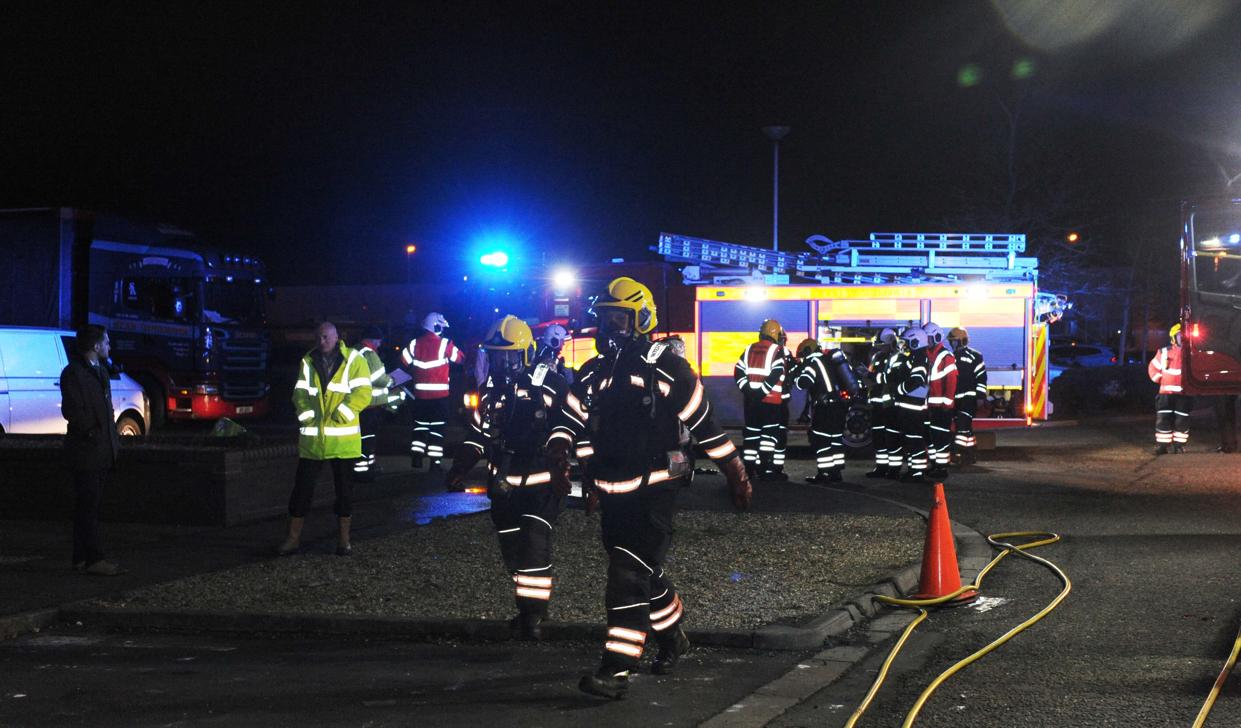 Safapac partners with Cambridgeshire fire crews